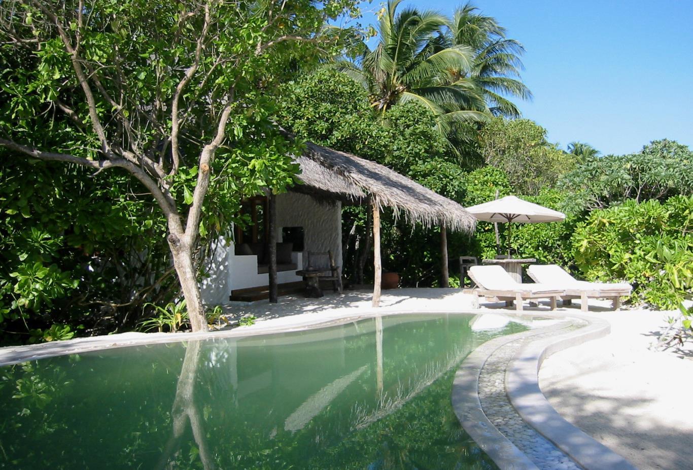 Soneva Fushi Villa with Pool Exterior