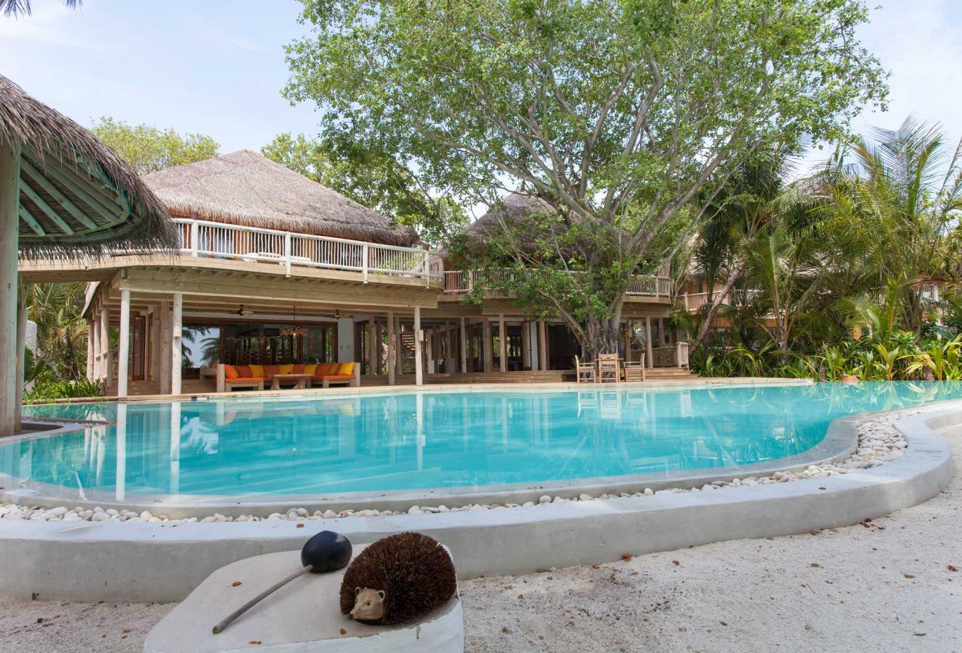 Villa 14 Exterior Pool