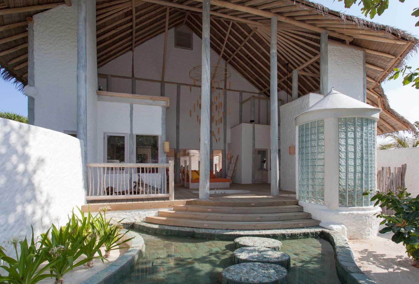 Villa 1 Master Bedroom Exterior