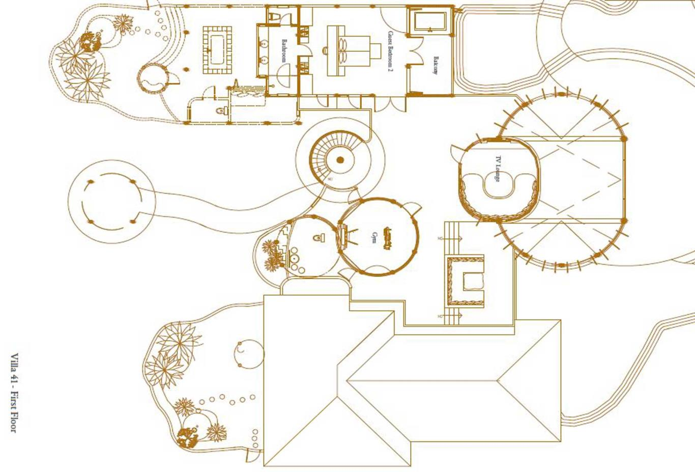 Villa 41 First Floor Floorplan