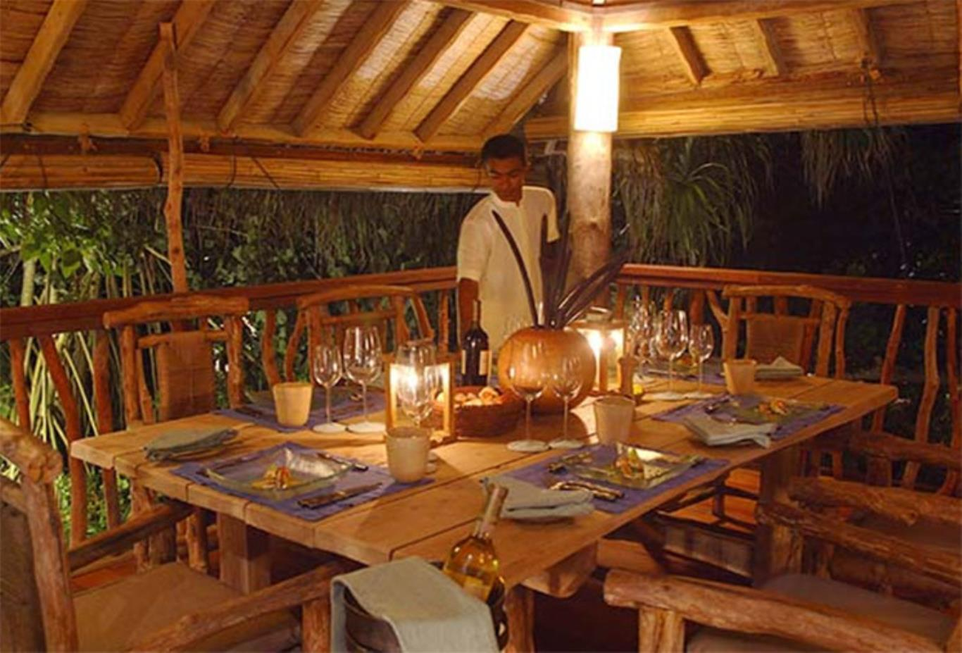 Sunset Retreat Dining
