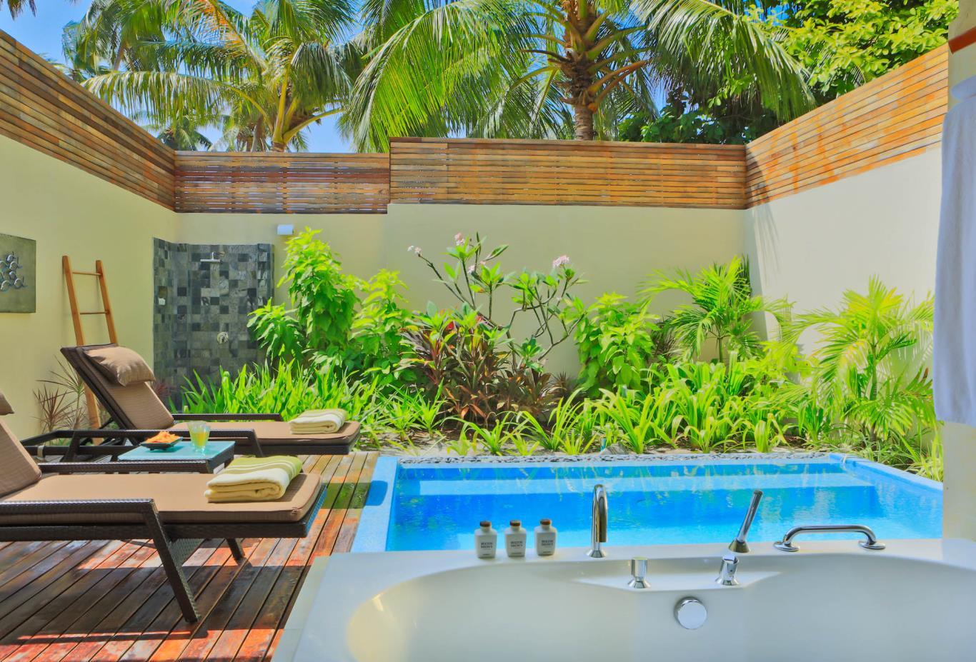 Garden Pool Villa Exterior