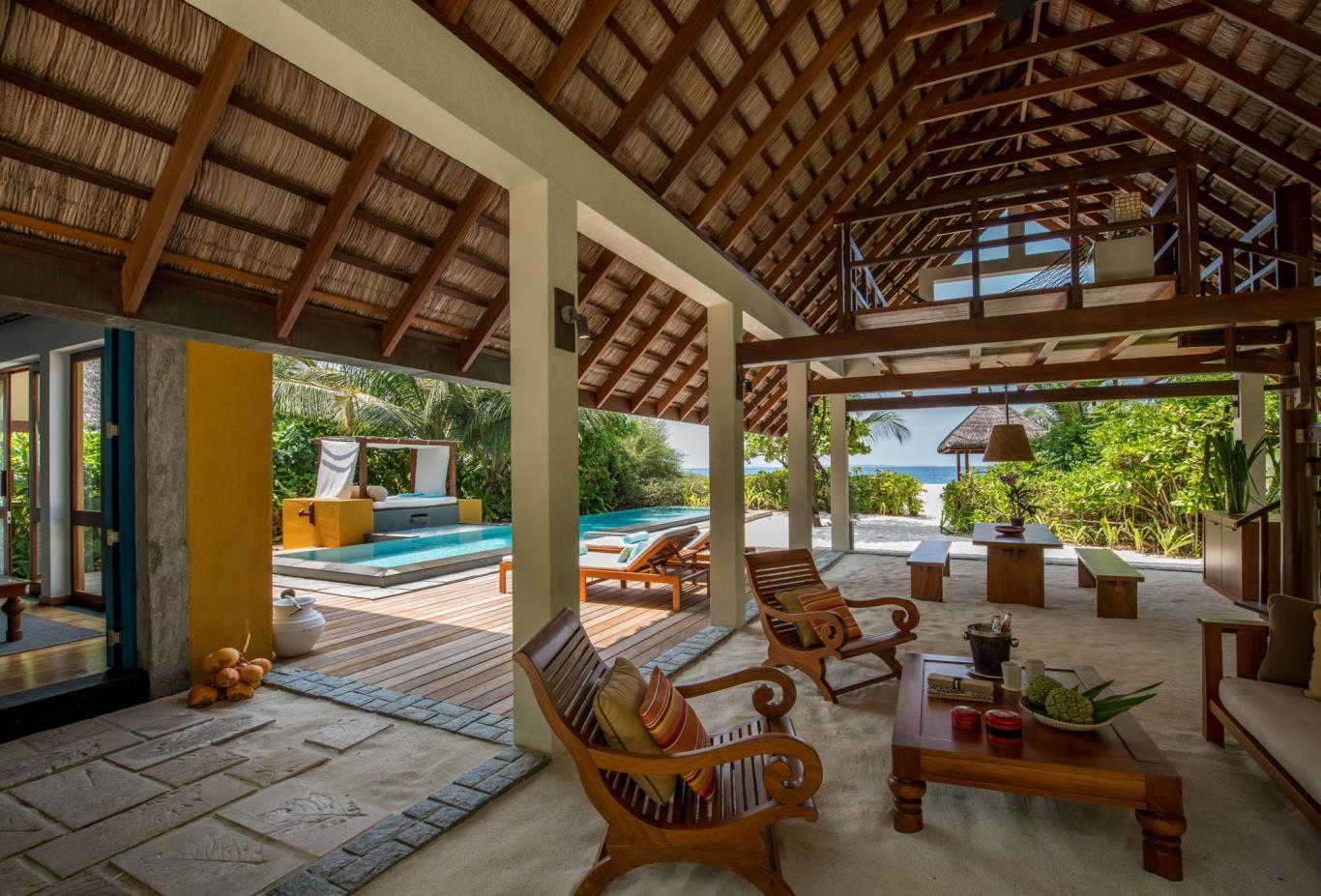 Beach Villa With Pool Interior