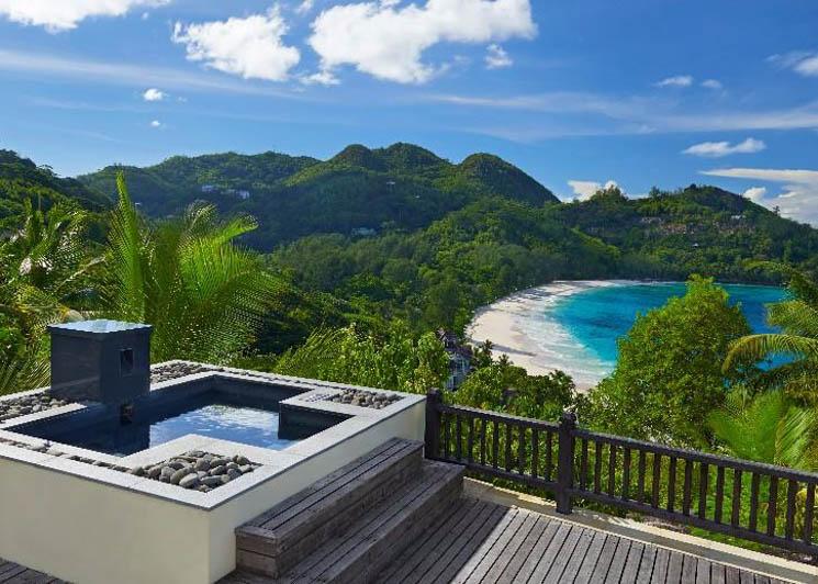 Sanctuary view pool villa