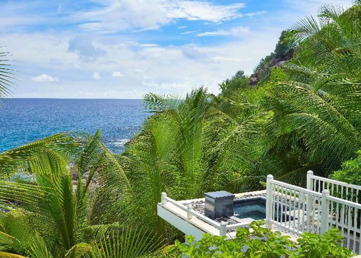 Intendance Bay Villa view