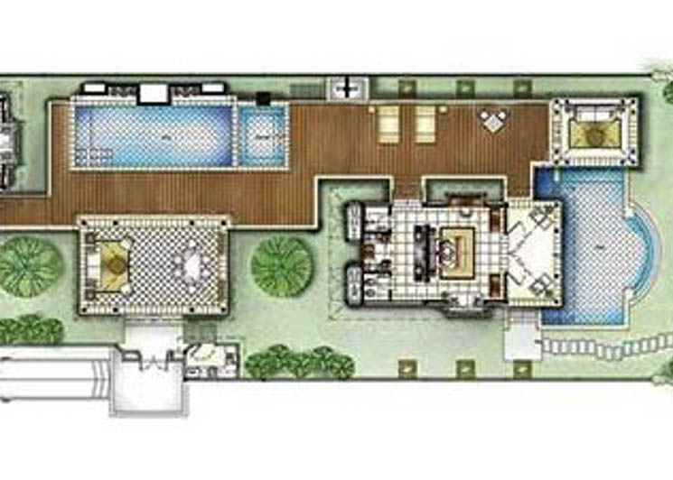 2 Bed Double Pool floorplan