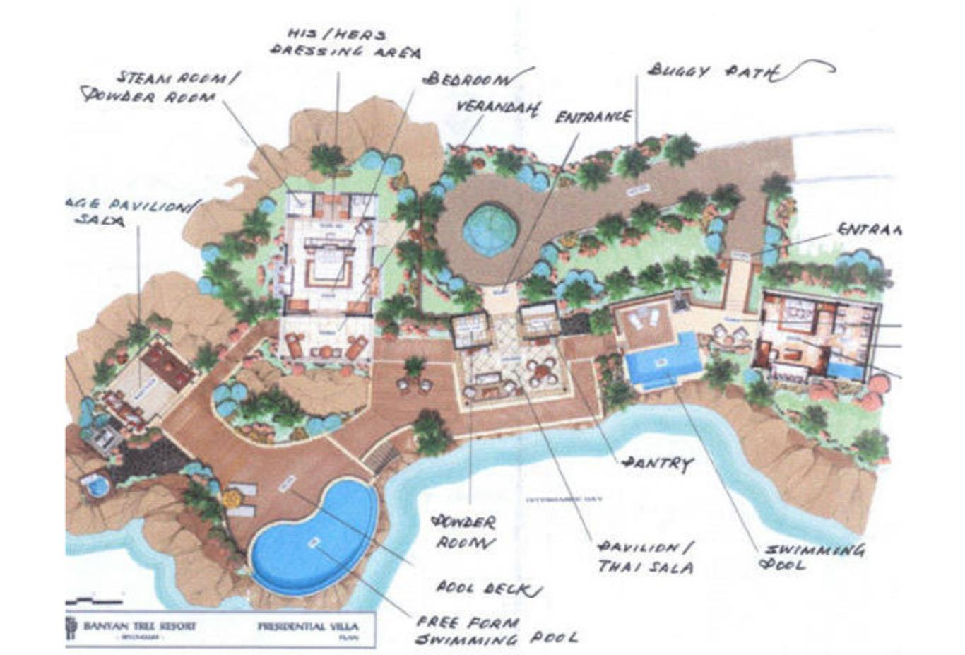 Floorplan - Royal Banyan Ocean View Pool Villa