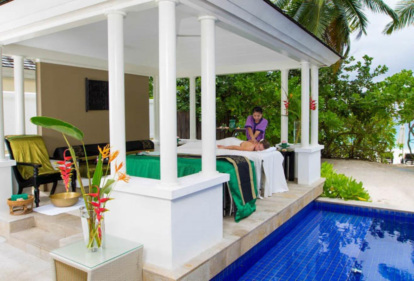 Spa Sanctuary Pool Villa