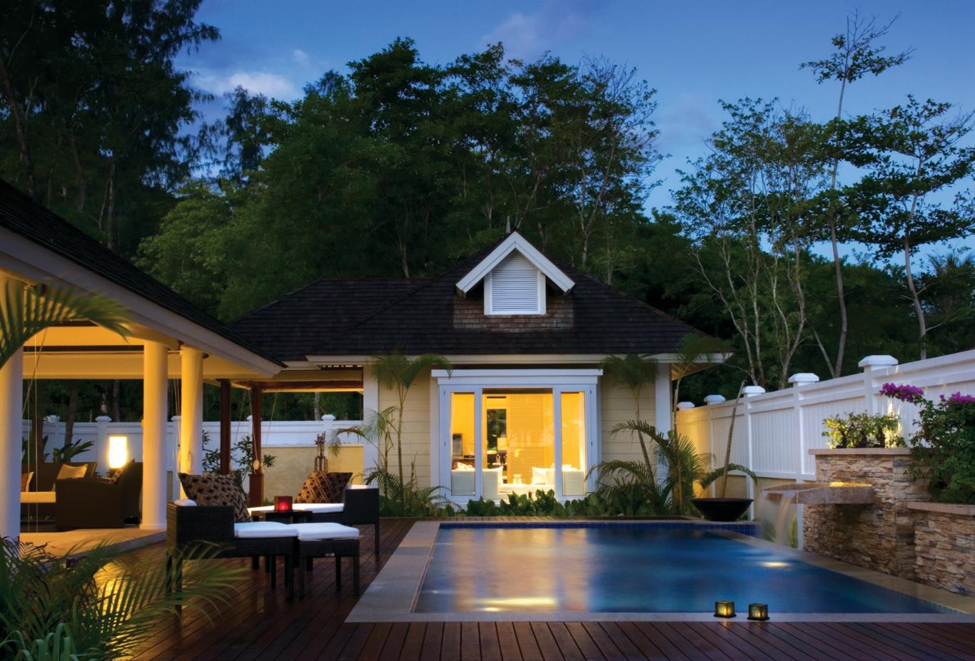 Two Bedroom Double Pool Beachfront Villa