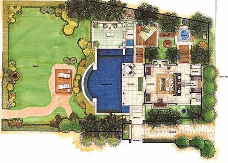 Royal Banyan Ocean View 2 Bedroom floor plan