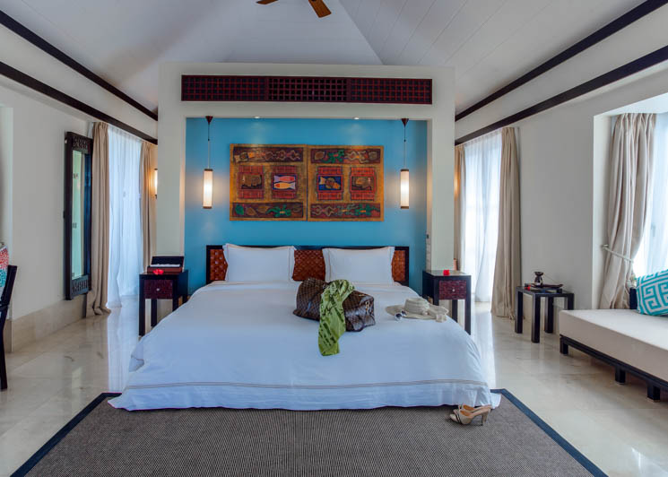 Beachfront Villa bedroom