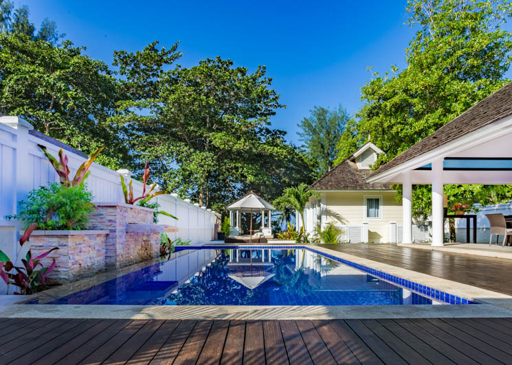 Two Bed double pool villa exterior