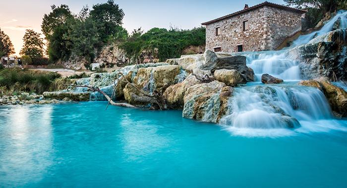 Thermal baths Tuscany