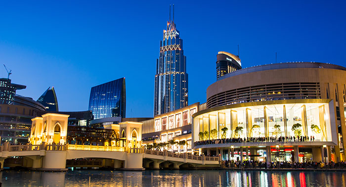 Dubai's shopping district