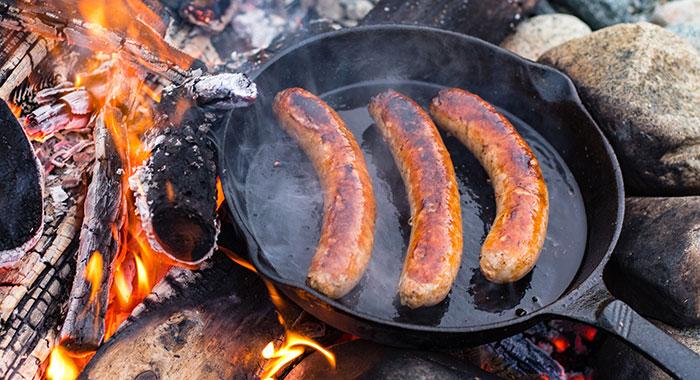 Grillimakkara sausages