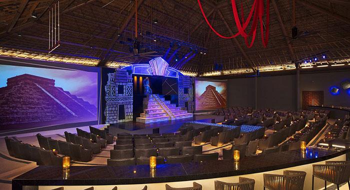 Indoor theatre for evening entertainment