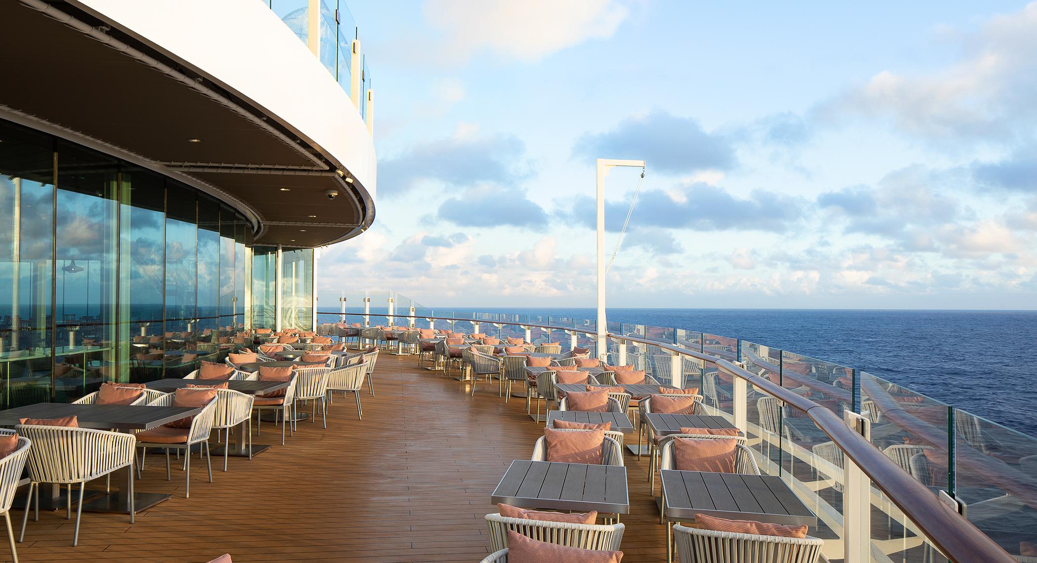 Oceanview Cafe terrace