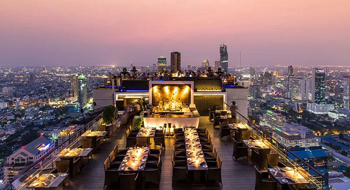 Vertigo and Moon rooftop bar
