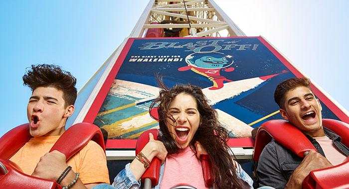 Blast Off theme park ride