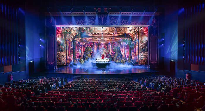 Bollywood Theatre show