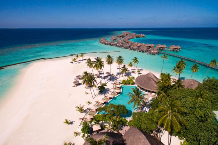 Halaveli Maldives 2016 Aerial 02