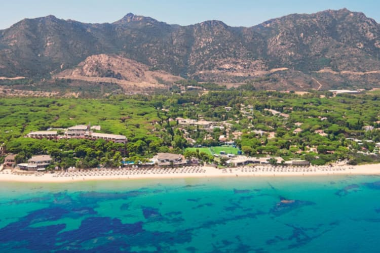 Beach at Forte Village