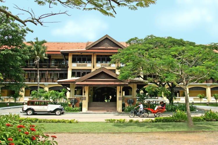 Victoria Angkor Resort Facade