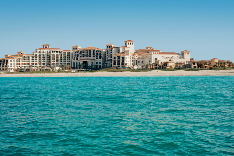 St Regis Saadiyat from sea