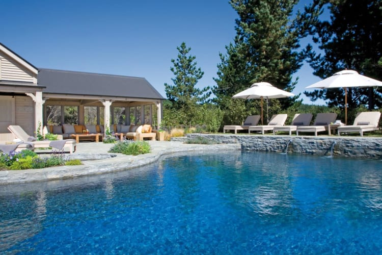 Pool & cabana