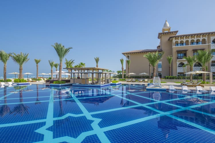 Overview of Rixos Saadiyat Island