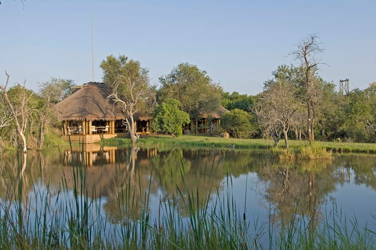 Jabulani Main Lodge Sunrise