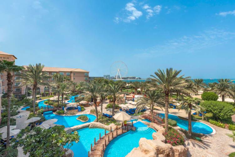 The Pools at The Ritz Carlton Dubai