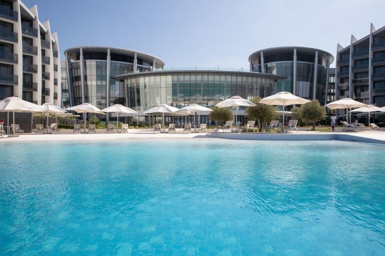 Jumeirah at Saadiyat Island Resort   Pool View