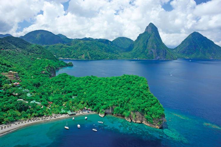 Resort location aerial