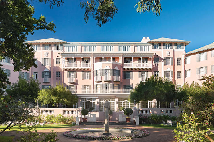 Mount Nelson Hotel Exterior