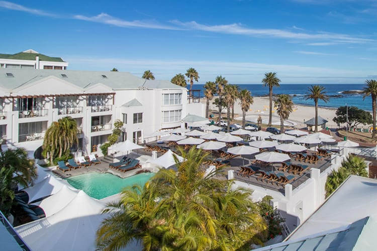 The Bay Hotel Deck & Ocean View