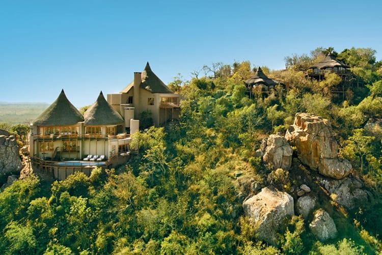 Ulusaba Rock Lodge Rock Lodge Exterior