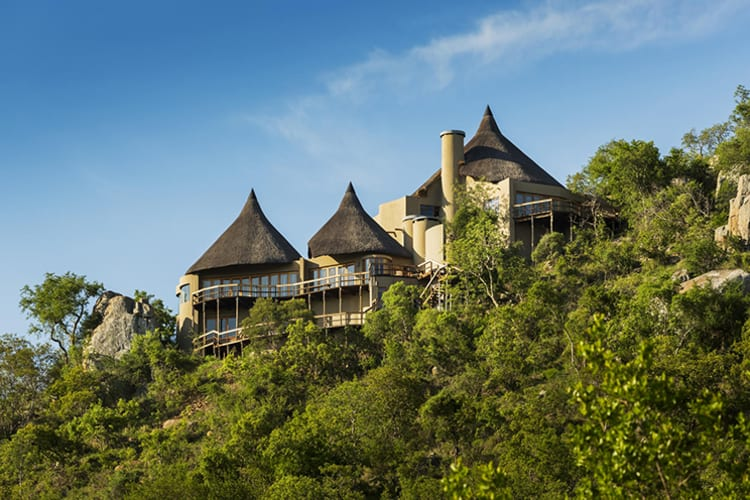 Ulusaba Cliff Lodge Exterior