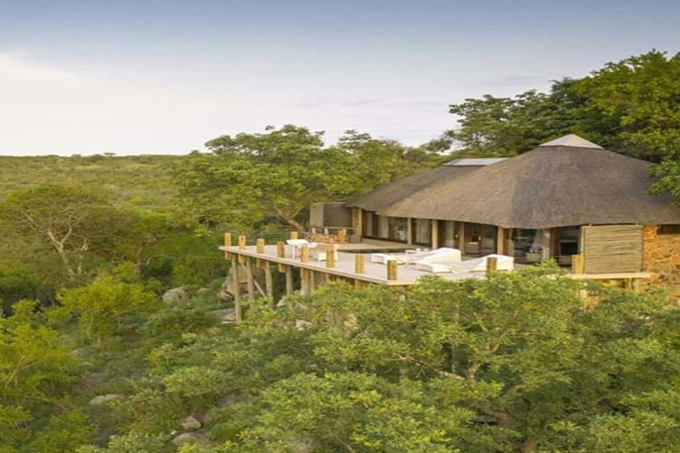 Leopard Hills Lodge Outside view