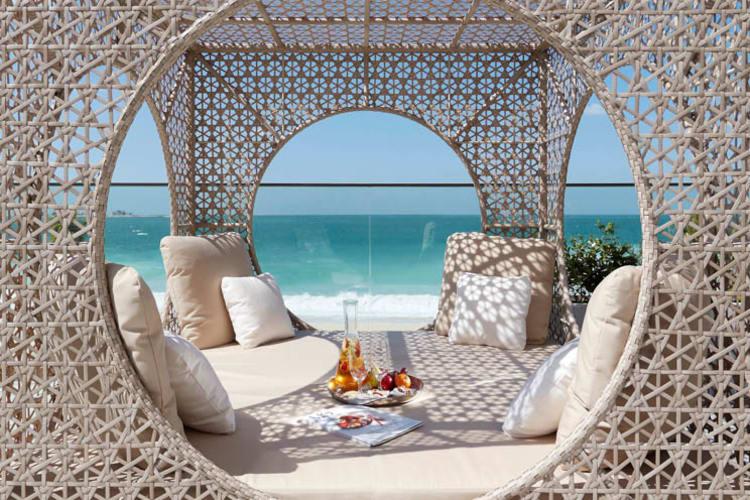 Mandarin Oriental Canouan Luxury Spa Daybed