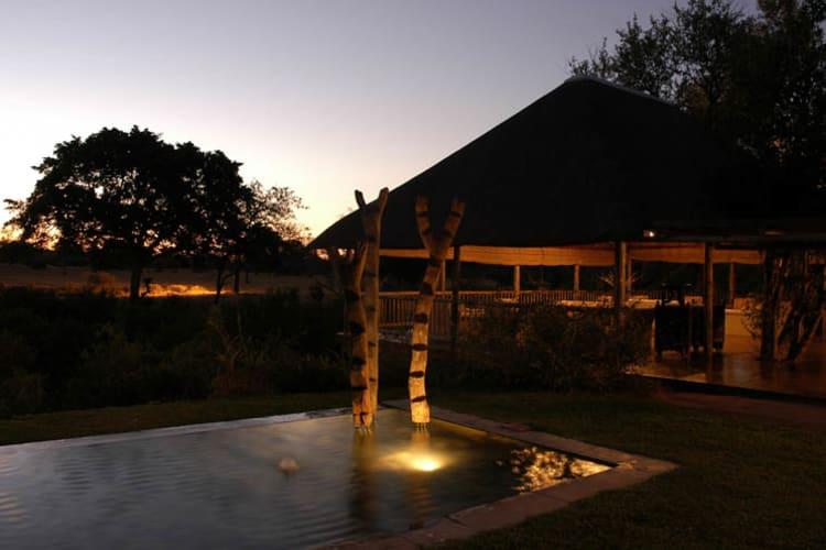 Sabi Sabi Bush Lodge View At Night