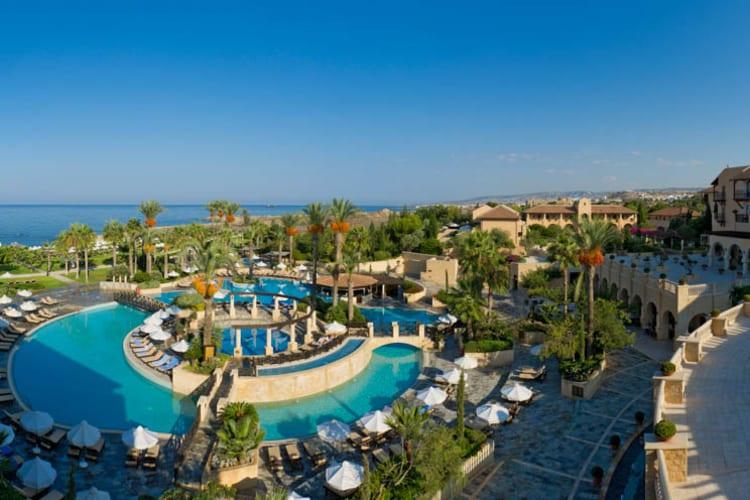 Elysium Paphos Hotel Aerial