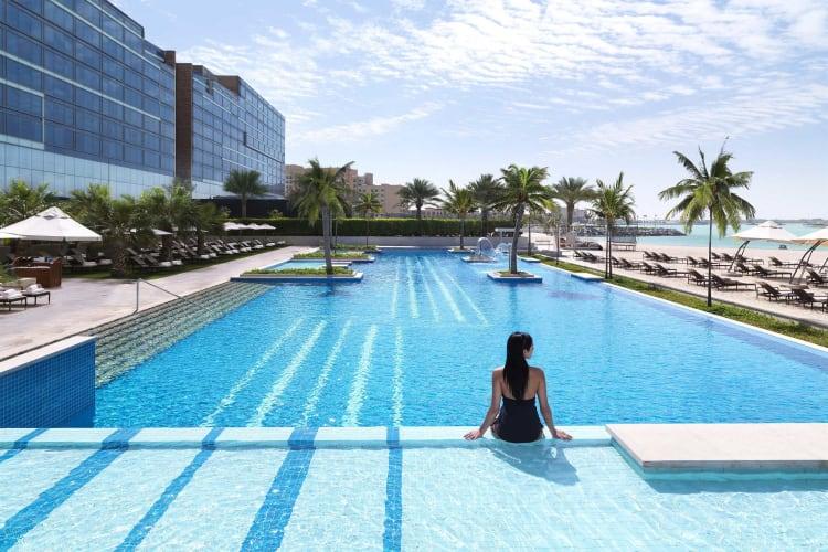 Fairmont Bab Al Bahr Pool View