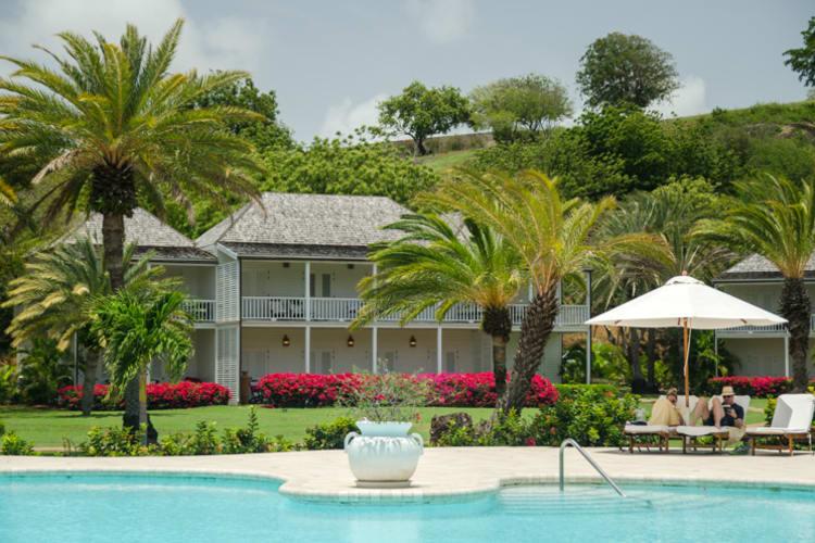 Inn At English Harbour Pool & Terrace Views