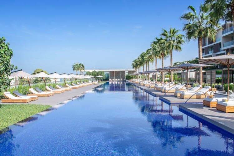 The Oberoi Al Zorah Main Pool
