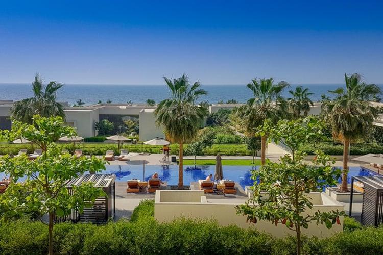 The Oberoi Al Zorah Pool View