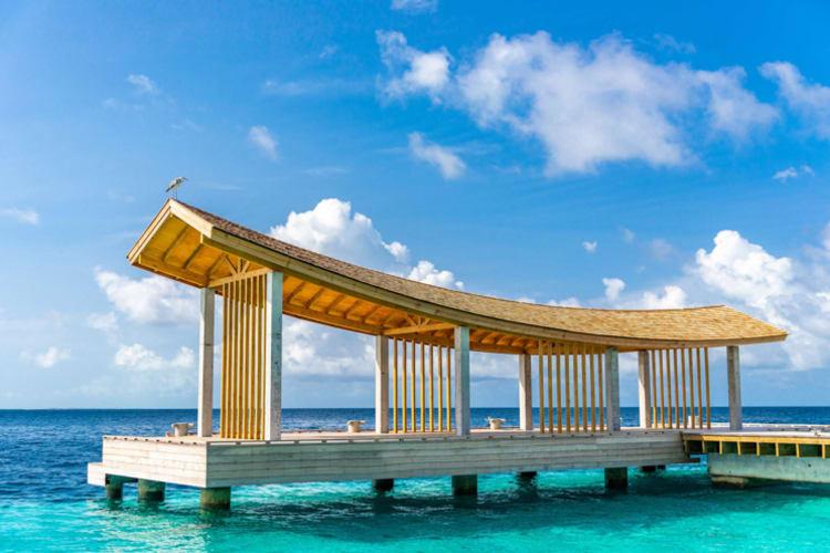 Kagi Maldives Spa Island Jetty View