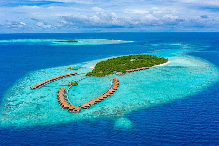 Ayada Island Aerial shot
