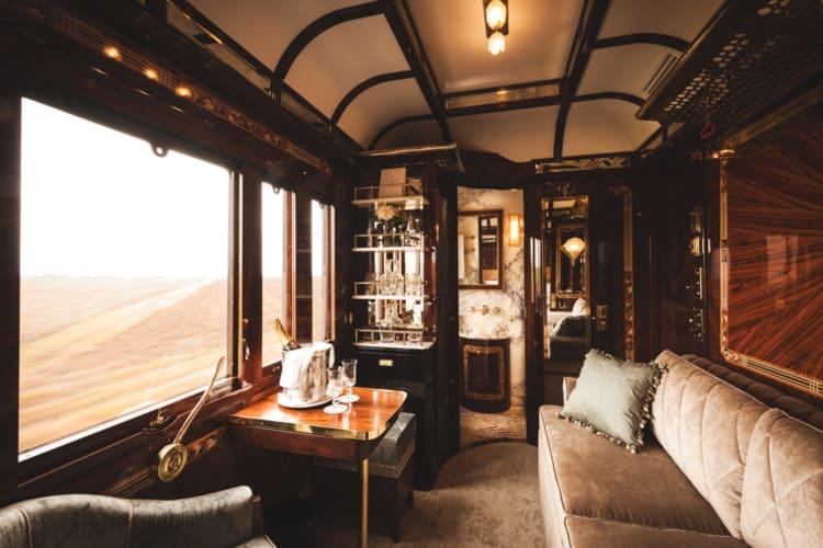Venice Simplon Orient Express Seating Area