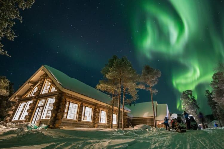 Wilderness Hotel Nangu Under Northern Lights